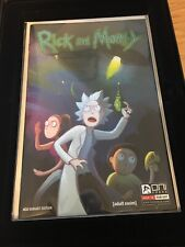 Rick and Morty #1 Oni Press Four Color Grails Variant 4CG Variant Rare With Book