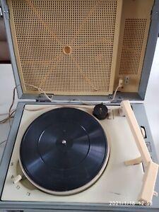 Vintage Vinyl Record-Player Retro Turntable Koncertniy USSR