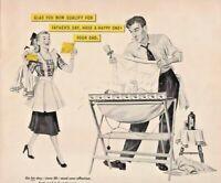 1948 Western Union Telegram Vintage Print Ad Father's Day