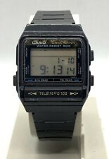 Reloj Casio data Bank DBX-101W japan vintage