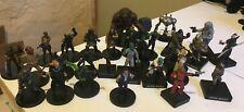 star wars miniatures lot 30 figurines - droid rodian calamari Imperial assault