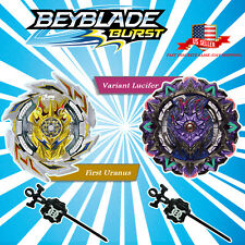 2-IN-1 Beyblade Burst SuperKing/Surge B00-169/B-169 First Uranus/Variant Lucifer
