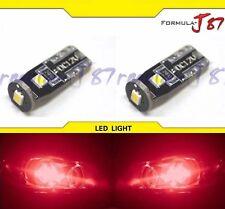 LED 2835 Light 194 Red Two Bulbs Side Marker Map Step Door Parking Trunk Brake