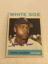 1964 Topps 283 Tom Tommy McCraw Autographed Auto Signed Card