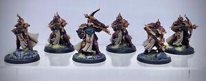 Warhammer AoS - Stormcast Eternals Castigators, painted (Astral Templars)