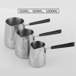 Wax Melting Pot Stainless Steel Jug Wax Melting Pouring Pitcher Jug DIY Soap Pot