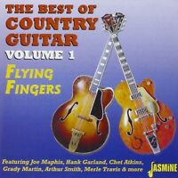 FLYING FINGERS-THE BEST OF COUNTRY GUITAR - CHET ATKINS, MERLE TRAVIS CD NEU