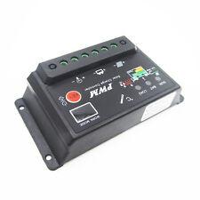 Solar Regulator 20A 12V 24V pwm Charge Controller LED Display Light Timer Black