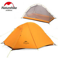 2 Person Double layer Waterproof Windproof Outdoor 3 Season Camp Ultralight Tent