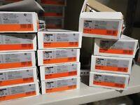 stock materiale elettrico per appartamento MATIX bticino VIMAR PLANA
