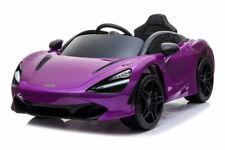 12V McLaren 720S sous licence Violet - Voiture Electrique Pour Enfants