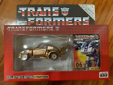 Takara E-Hobby Exclusive Transformers #06 Gold Jazz MISB