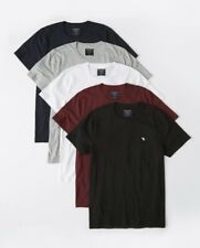 NWT Abercrombie & Fitch A&F Men's ICON Classic Crew Neck Tee T Shirt Hollister