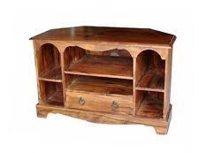 Brand New Jali GANGA Sheesham legno unità TV ANGOLO/ARMADIO ssgae - 4680