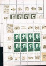 Rusia. Lenin. 10 Hojas con 8 sellos y 16 viñetas cada una. Valor 65 Euros