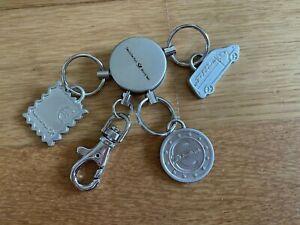 Deutsche Post World Net DHL Postbank Schlüsselanhänger Metall