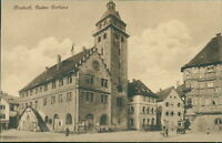 Ansichtskarte Mosbach Baden Rathaus 1925  (Nr.9102)