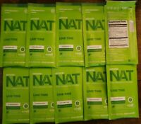 Pruvit Keto OS NAT Ketones LIME TIME Charged 10 Packets Exp 2022