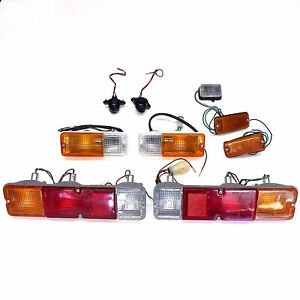 Complete Set of Lights OEM Turn Tail Brake Marker Suzuki Samurai SJ410 SJ413