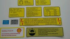 Engine decoration stickers for Porsche 911 t