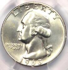 1963 Doubled Die Obverse Washington Quarter FS-101 DDO - PCGS MS66 - $325 Value!