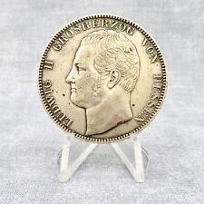 1840 German 2 Thaler - 3-1/2 Gulden Silver Coin  LUDWIG II GROSHERZOG VON HESSEN