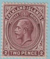 Falkland Islands 43 Mint Hinged OG * - No faults Extra Fine!