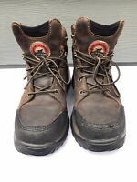 """Red Wing Two Harbors Women's 6"""" Waterproof Leather Steel Toe Boot Size US 6.5"""