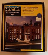 "Ho Woodland Scenics ""Dpm Landmark Series"" 12500 * County Courthouse kit Nib"