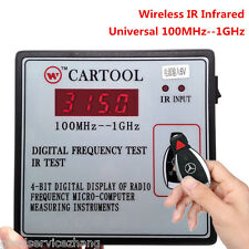 HOT Digital Frequency Test Car IR Infrared Remote Key Frequency Tester for Benz