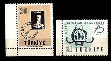 TURKEY - TURCHIA - 1957 - 75° della fondazione dell'accademia di belle arti
