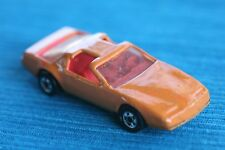 Orange CHEVROLET CORVETTE (I think), HOT WHEELS (Model Car). Average Condition.