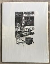 Barry Moser-San Francisco- Print - Signed - 91/2 x 12 1/2