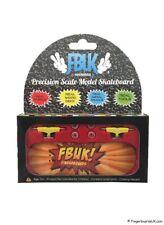 FBUK Fingerboard 30mm Setup Real Wood Deck, Bearing Wheels, Tech Deck, Design 5