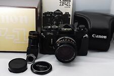 *Top Mint* Canon F-1 Film Camera Body +lens FD 50 f/1.4 SSC/Box/case From Japan