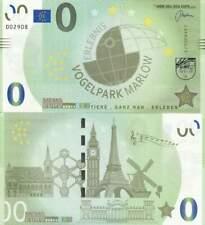 Biljet billet zero 0 Euro Memo - Vogelpark Marlow (052)