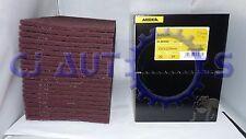 MIRKA MIRLON VF RED SCOTCH BRITE VERY FINE ABRASIVE FINISHING PADS PACK BOX X20