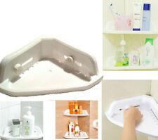 Bathroom Shelf Corner Shower Shelf Rack Bath Kitchen Storage Plastic Suction Cup