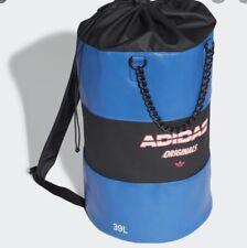 Nuevas Adidas 39L Azul Cubo Bolso Grande