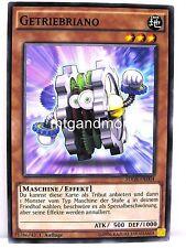 Yu-Gi-Oh - 3x getriebriano-SDGr-geargia Rampage