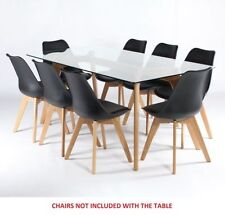 Solid Wood Contemporary Up to 8 Seats Table & Chair Sets