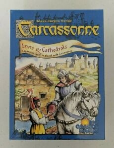Carcassonne: Inns & Cathedrals Expansion (2002, Rio Grande Games) New