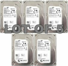 "5 x Seagate 160Gb HDD PC/Desktop 3.5"" SATA Hard Disk Drive ST3160815AS BULK LOT"