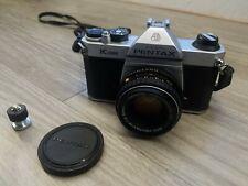 Pentax Asahi K1000 35mm SLR Film Camera W/SMC M 50mm 1:2 50mm Lens 79783969