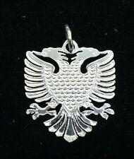 Albanian Eagle Pendant New Style Silver 925