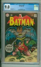 Batman #209 9.0 CGC Fact File: #2: Golden Age Green Lantern 1969