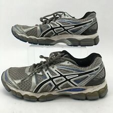 Asics Gel Evate 2 Mens Running Shoes Athletic FluidRide Leather T4A2N Gray 8