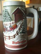 1984 holiday Budweiser stein