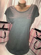 "Victorias Secret Cotton Sleeps Shirt Nightie ""Angel At Heart"" XS"