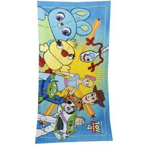 Disney Toy Story 4 woody fork woody Bo Peep BeachTowel Cotton 140*70cm